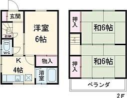 王子神谷駅 8.8万円