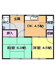 星ヶ丘駅 4.8万円