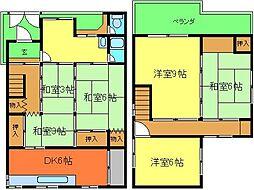 和泉府中駅 6.0万円