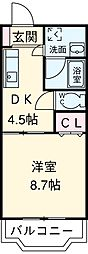 伊奈駅 3.8万円