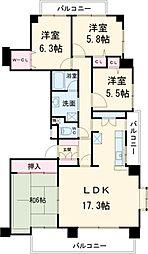 星ヶ丘駅 17.0万円