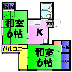 稲毛駅 4.0万円
