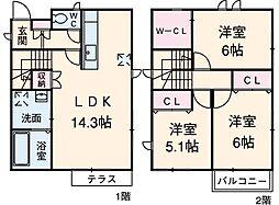 春田駅 11.0万円
