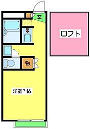 北信太駅 4.1万円