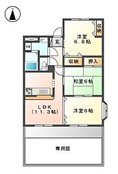 鵜沼宿駅 5.9万円