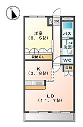 富田駅 6.3万円