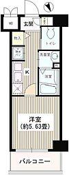 JR山手線 大塚駅 徒歩3分の賃貸マンション 2階1Kの間取り