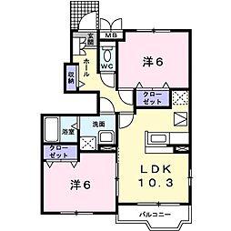 西八王子駅 6.4万円