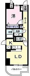 伊豆箱根鉄道駿豆線 三島広小路駅 徒歩21分の賃貸マンション 3階1LDKの間取り