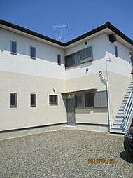 JR鹿島線 潮来駅 徒歩20分の賃貸アパート 1階2DKの間取り