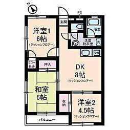仙川駅 8.0万円