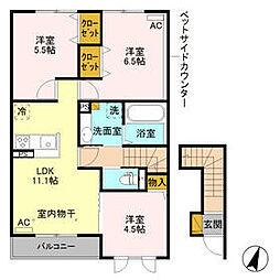 川島駅 6.9万円