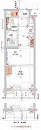 (仮)武蔵小杉フォレストスクエアレジデンス 5階1DKの間取り
