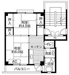 御花畑駅 3.4万円