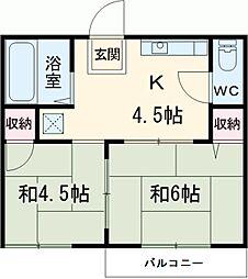 中村公園駅 3.2万円
