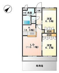 川越富洲原駅 6.4万円