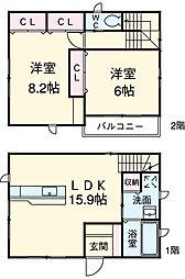 西岡崎駅 9.0万円