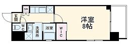JR京浜東北・根岸線 大宮駅 徒歩9分の賃貸マンション 7階1Kの間取り