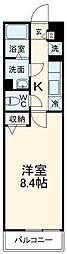 阪急嵐山線 嵐山駅 徒歩7分の賃貸マンション 1階1Kの間取り