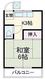 市川駅 2.5万円