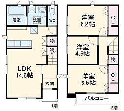 北上尾駅 11.5万円