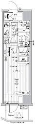 JR山手線 池袋駅 徒歩13分の賃貸マンション 9階1Kの間取り