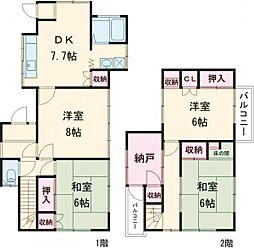 南平駅 7.8万円