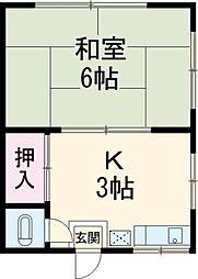 五反野駅 2.3万円