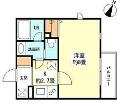 洗足駅 7.6万円