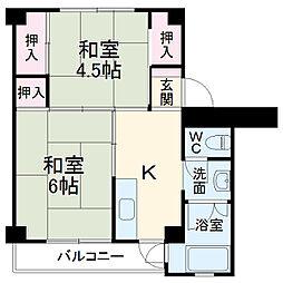 土橋駅 3.9万円