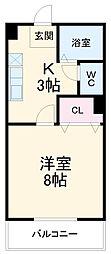 猿投駅 3.8万円