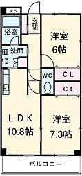 東枇杷島駅 7.4万円