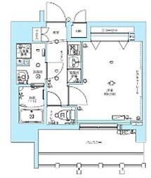 東京メトロ丸ノ内線 中野富士見町駅 徒歩6分の賃貸マンション 5階1Kの間取り