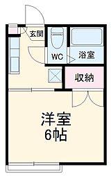 野州山辺駅 2.0万円