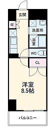 (仮称)香流橋1丁目マンション 5階1Kの間取り