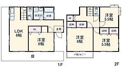 榎戸駅 6.3万円