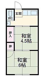 国府駅 2.5万円
