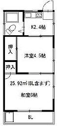 ときわ台駅 3.5万円