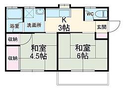 西小坂井駅 3.5万円