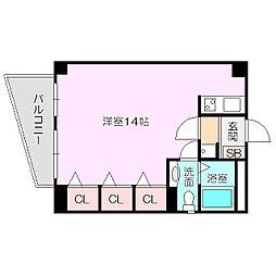 マンションepi[4階]の間取り