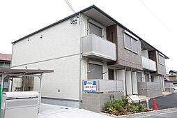 滋賀県東近江市建部瓦屋寺町の賃貸アパートの外観