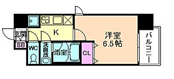 Lala place 梅田東シエスタ[11階]の間取り