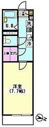 エスポワール西横浜(ネット使い放題)[301号室]の間取り