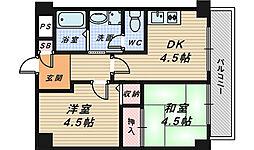 ラ・メゾンデ堺[7階]の間取り