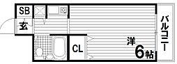 ステーションプラザ神戸西[2階]の間取り
