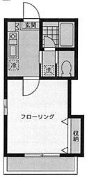 神奈川県川崎市高津区久本1丁目の賃貸アパートの間取り