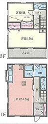 [テラスハウス] 神奈川県横浜市緑区長津田みなみ台5丁目 の賃貸【/】の間取り