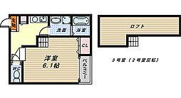 ソラーレ新金岡[2階]の間取り