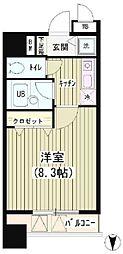 アクアコート[9階]の間取り