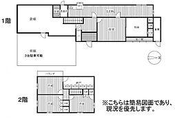 [一戸建] 福岡県福岡市西区大字飯氏 の賃貸【/】の間取り